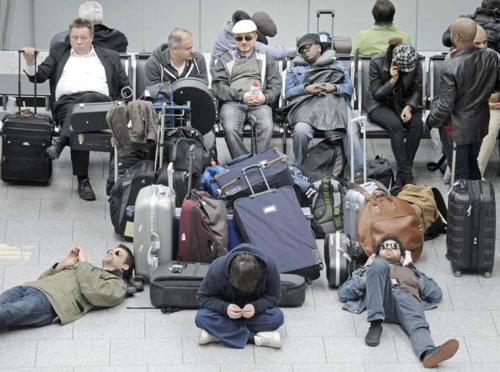 3-Volcano Airport Crowd