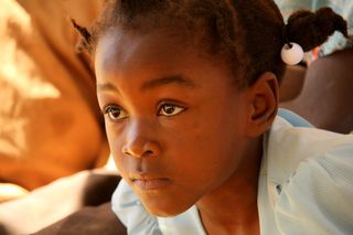 • 2-HAITI Girl Eyes