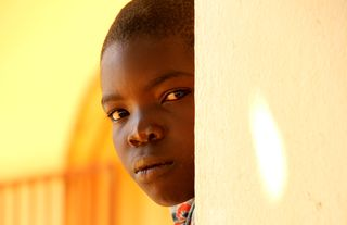 • 3-HAITI Boy Wall