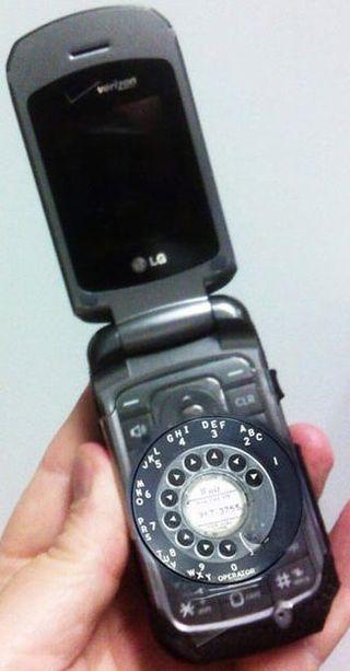 RotaryCellPhone
