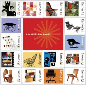 Eames-postage-stamps