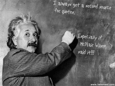 Einstein- quote