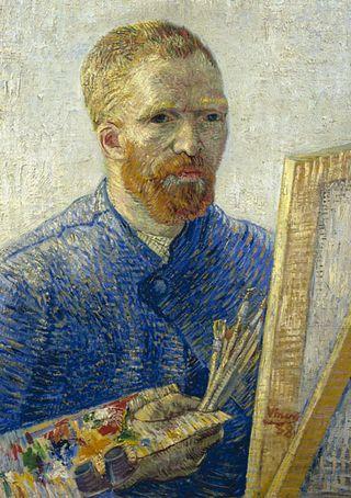 Van-Gogh-easel