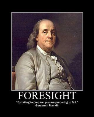 Ben Franklin-Foresight