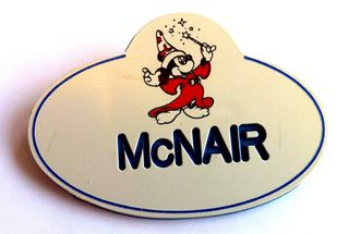 McNair Disney Nametag