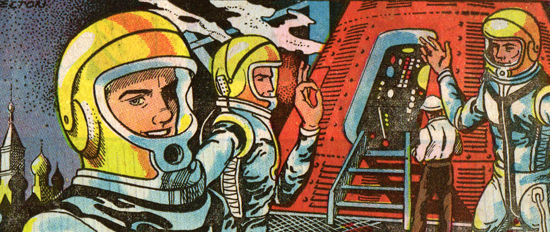 OUR NEW AGE-Astronauts-26-Nov-61