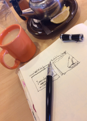 Tea & fountain pen