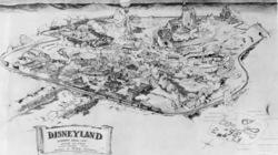 Disneyland_firstsketch1955